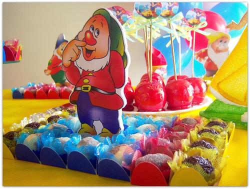 Decoracion De Fiestas Infantiles De Blanca Nieves Y Los 7 Enanitos