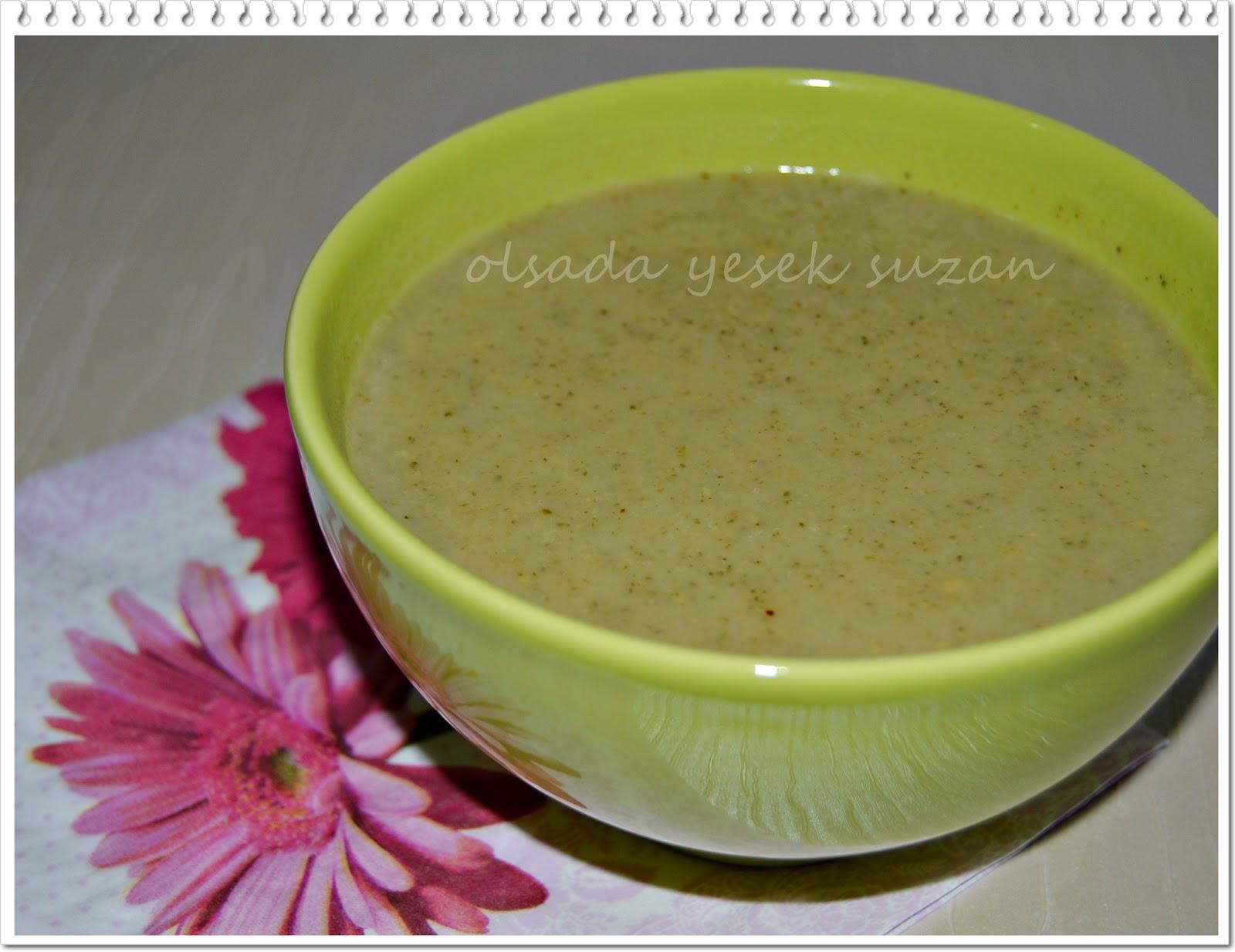 Kremalı Brokoli Çorbası Tarifi – Çorba Tarifleri