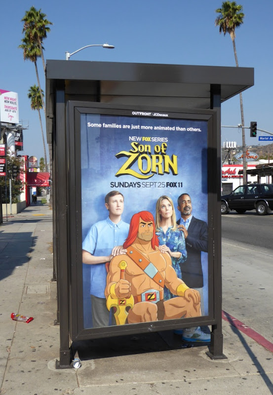 Son of Zorn bus shelter poster