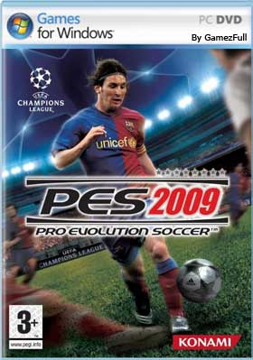 Descargar Pro Evolution Soccer 2009 pc full español mega y google drive.