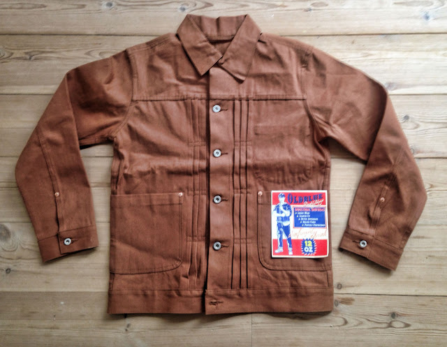 New Utility - Old Blue Duck Canvas Jacket