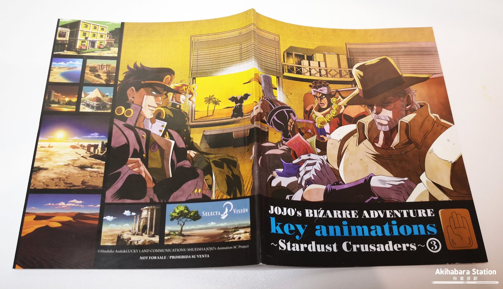 "Review de ""JOJO'S BIZARRE ADVENTURE: Stardust Crusaders"" parte 3 Battle in Egypt - SelectaVisión"