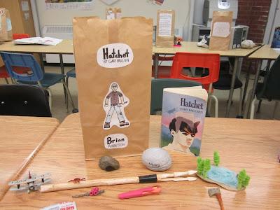 Paper bag character book report