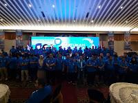 Meriah, Pelantikan Pengurus DPP KNPI Dihadiri Ribuan Tokoh Pemuda Se Indonesia