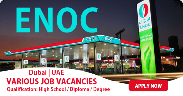 OIL AND GAS JOBS IN DUBAI ENOC CAREERS 2018 - GULF JOB PLUS