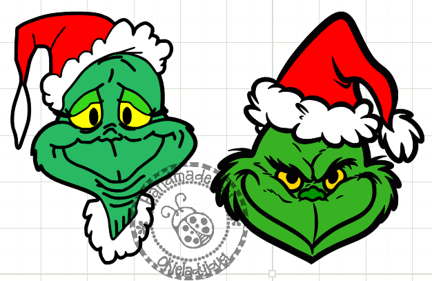 Gallery The Grinch Face Template