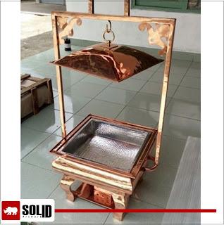 Copper Char Minar Chafing Dish