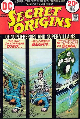Secret Origins #5, the Spectre