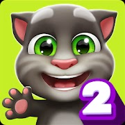 My Talking Tom 2 image logo, My Talking Tom 2 apk download