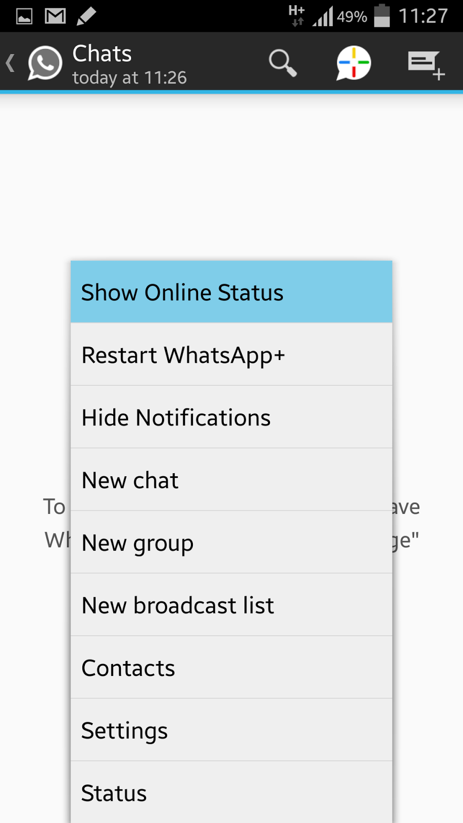 Whatsapp hide online status apk download