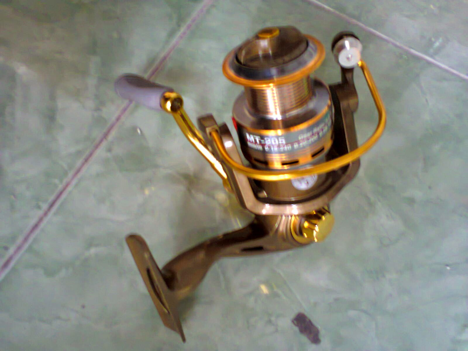 Gambar Reel Pancing GGolden Fish | Kuat Tidak Mahal | Info Tips Mancing Jambal / Patin di sungai