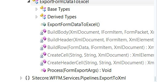 WFFM : Customizing export form data to excel functionality
