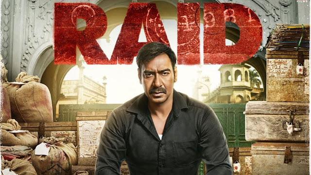 Ajay Devgn Amay Patnaik in Raid
