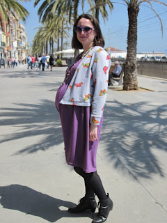 renfrew dress hack wrapped dress seamwork magazine colette patterns wembley cardigan modistilla de pacotilla cal joan sudadera vestido premama
