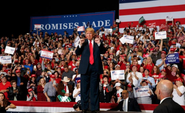 With political future on line, Trump makes last midterm push