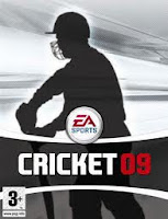 ea cricket 2009 pc game cover
