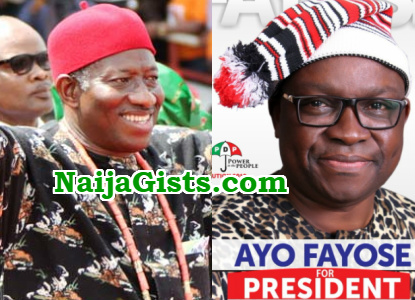 fayose can't run for president 2019