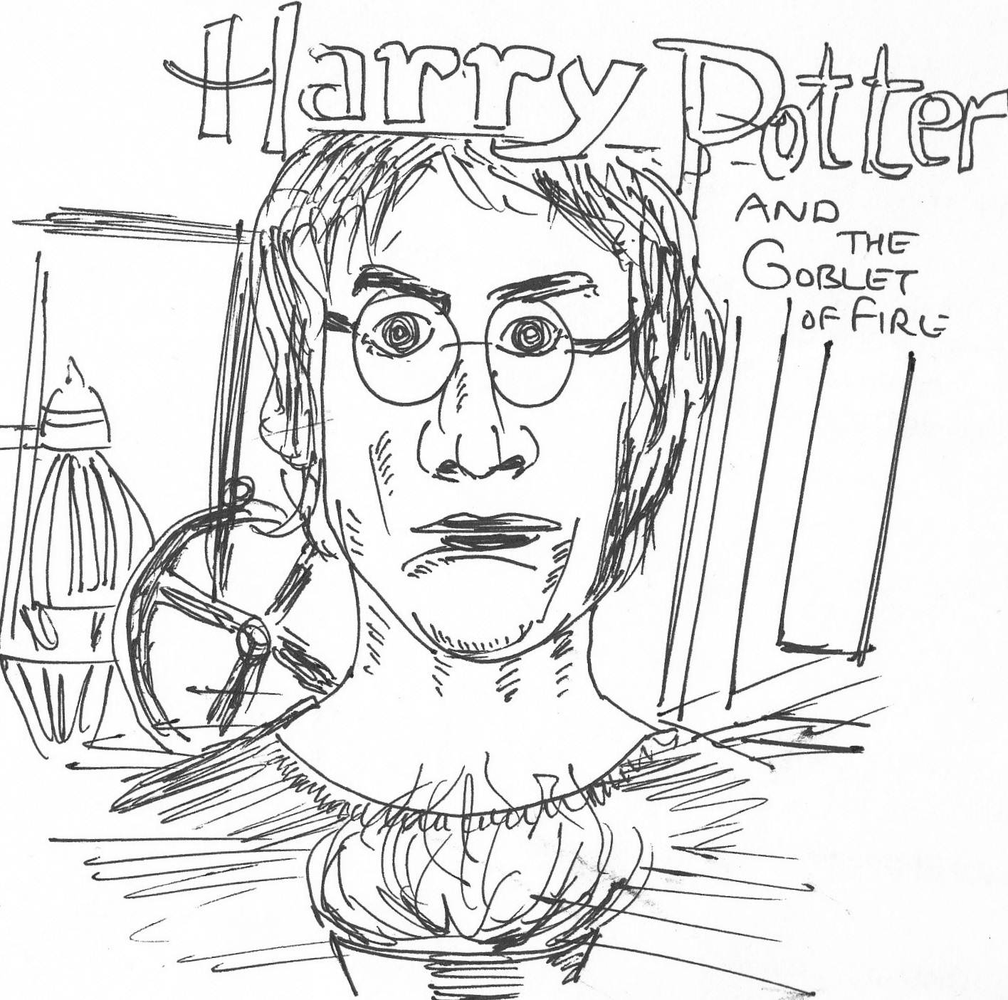 CHUMMADRAW: Harry Potter and the Goblet of Fire