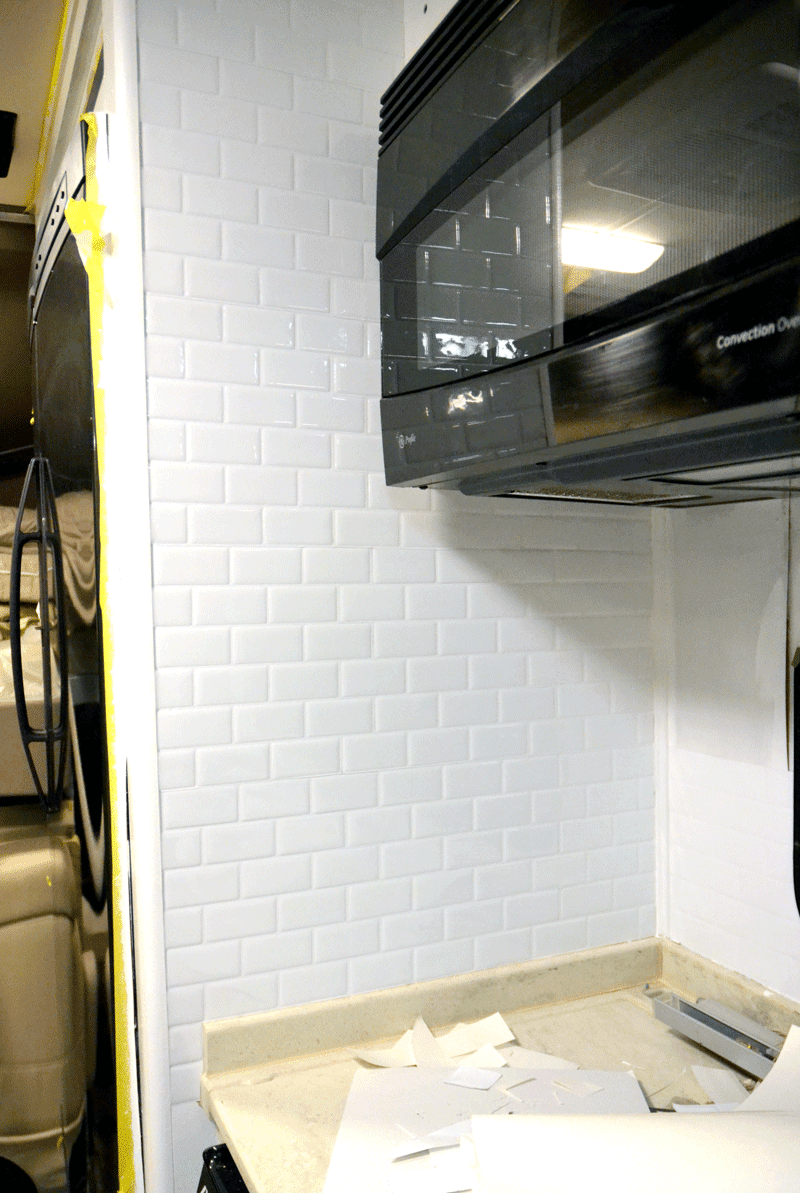 Paint By The Light: Installing Peel And Stick Tile