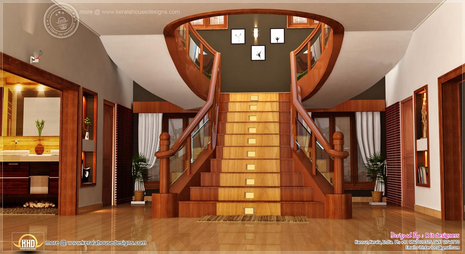 Home interior designs by Rit designers  Kerala home