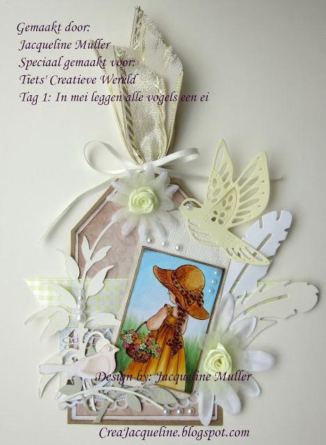 Winnaar Tiets' Creatieve Wereld - 7 Tags