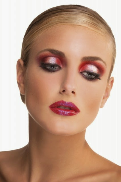 TRUCCO ROSSO MAKE UP RED
