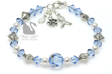 Breathe Free Behcet's Disease Awareness Bracelet (B184-BD)