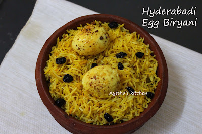 recipe with egg or rice and egg recipe for lunch hyderabad biryani is more flavorful rice dish