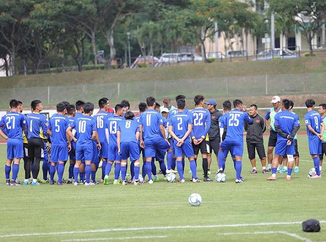 """U22 Việt Nam """"chốt"""" danh sách 20 cầu thủ dự SEA Games 29"""