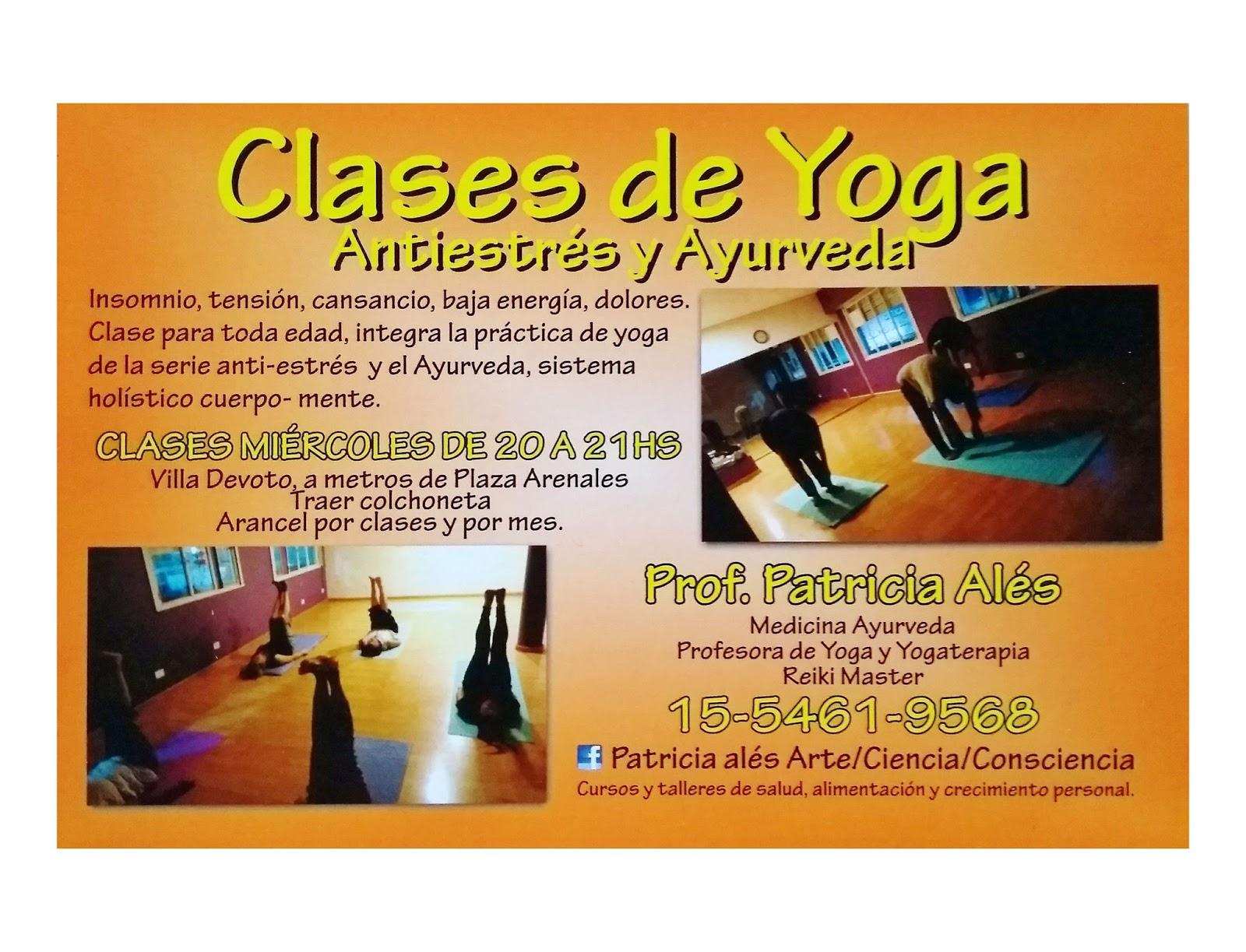 CLASES DE YOGA ANTI-ESTRÉS Y AYURVEDA 3e51804ceb3f