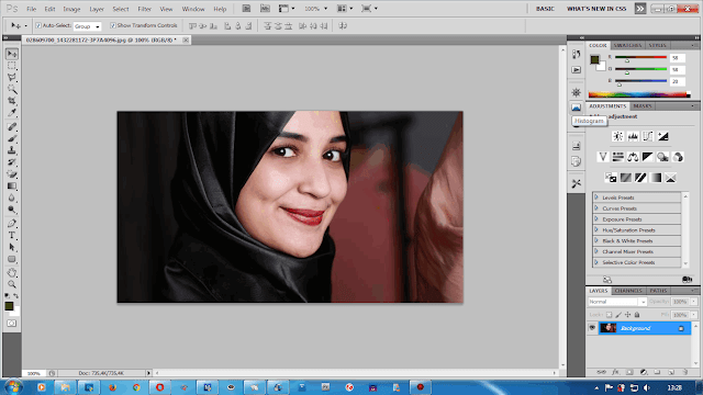 Cara Membuat Sudut Gambar Melengkung di Photoshop Mudah ...