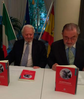 Los embajadores Piero De Masi y Carlos Sánchez de Boado y de la Válgoma