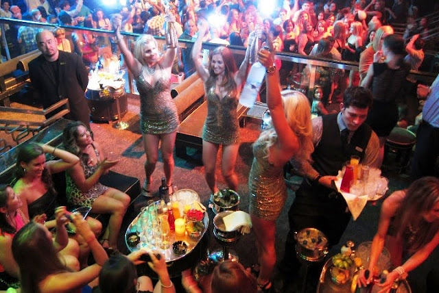 Como é a balada The Bank Nightclub em Las Vegas