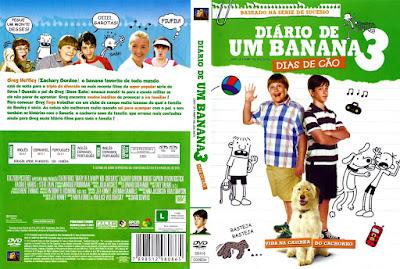 Filme Diário De Um Banana 3 - Dias de Cão DVD Capa