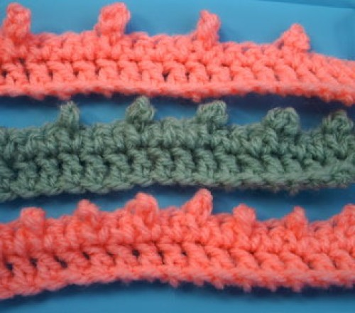 Crochet Picot Edging - Free Pattern