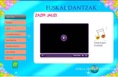 EUSKAL DANTZAK-INAUTERIAK