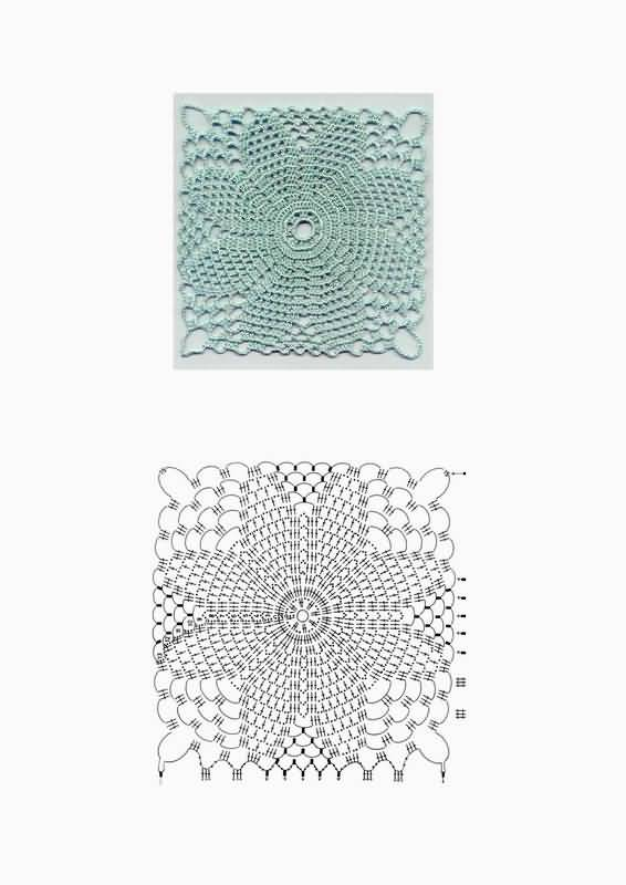 crochet motives diagrams