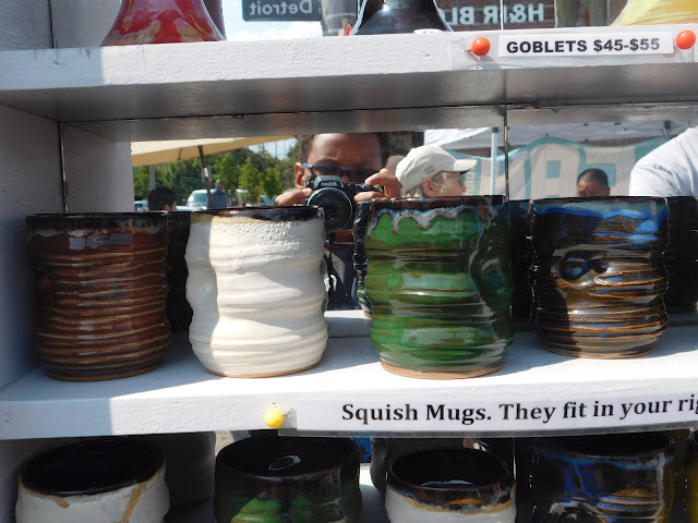 Squish mugs at Lakewood Arts Festival