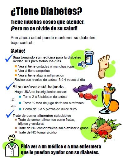 promoción de la salud y diabetes