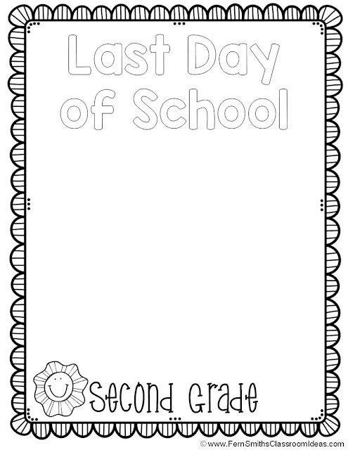 fern's freebie friday ~ back to school coloring pages for