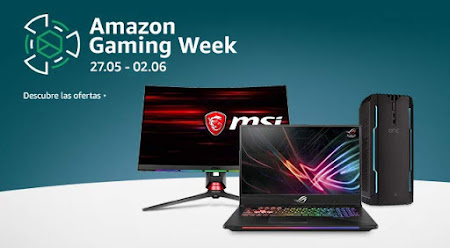Top 25 ofertas Amazon Gaming Week mayo 2019