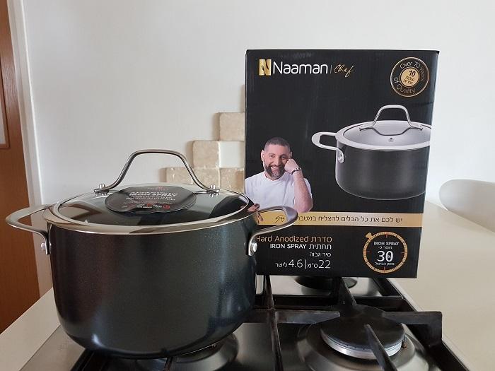 סירי איירון ספריי Iron Spray של נעמן – חסכון של 30% בזמן הבישול