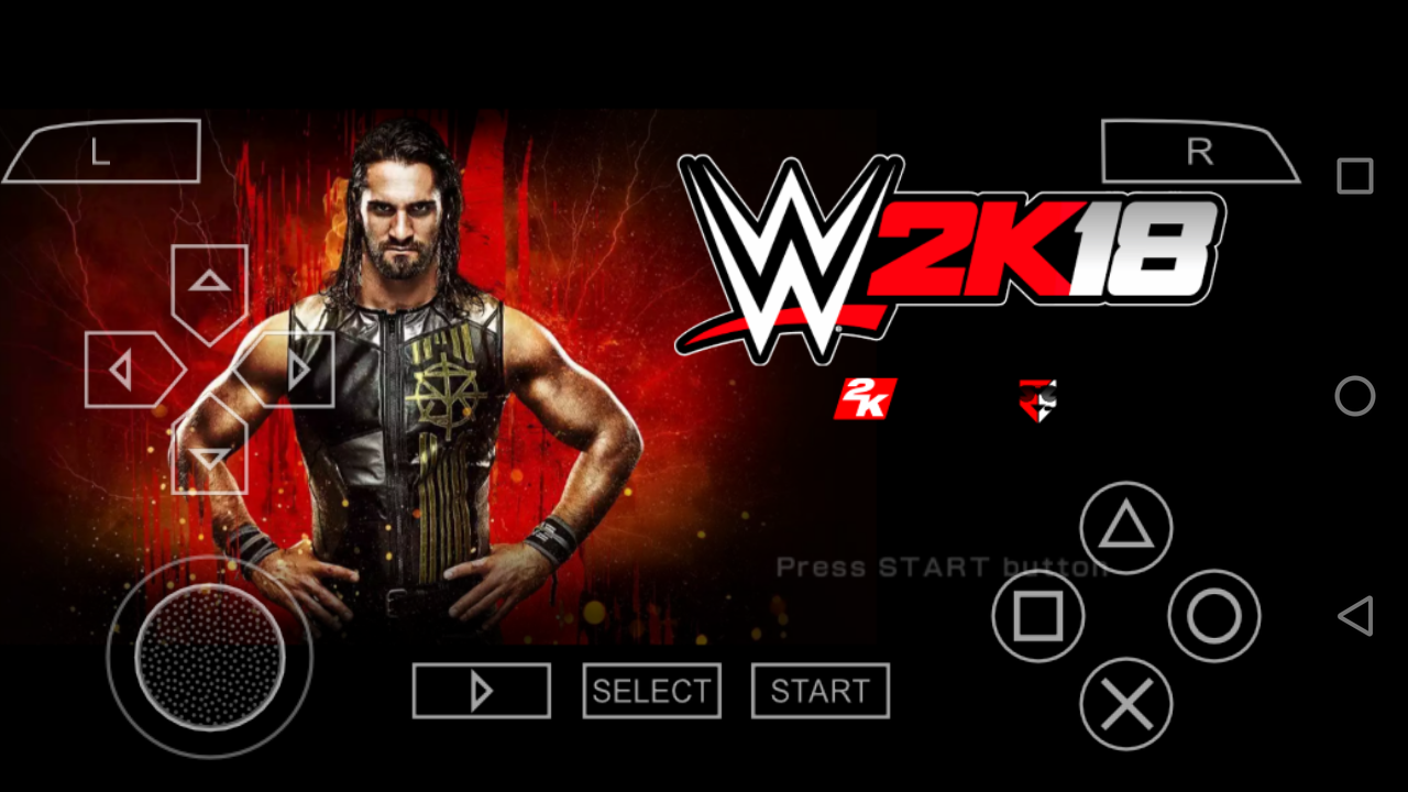 WWE 2K18 PPSSPP GAME ON ANDROID FOR FREE Download - NEW STATUS