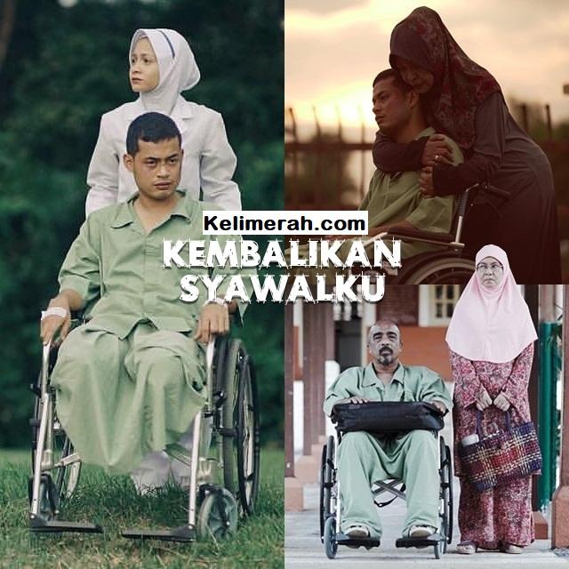 Telemovie Kembalikan Syawalku Lakonan  Syafie Naswip, Sharifah Amani