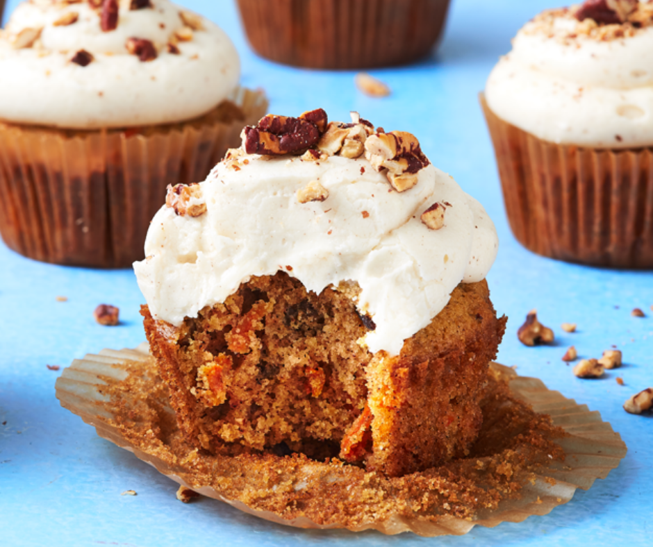 Carrot Cake Cupcakes - food-drink-recipes.com