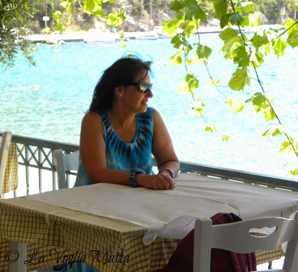 Chiara Lefkada Grecia