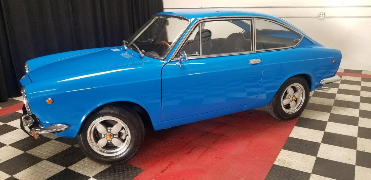 Italian Stallion: 1969 Fiat 850 Sport Coupe