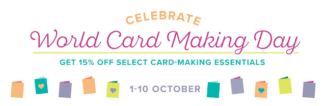 Stampin' Up! World Card Making Day Promotion from Mitosu Crafts UK Online Shop
