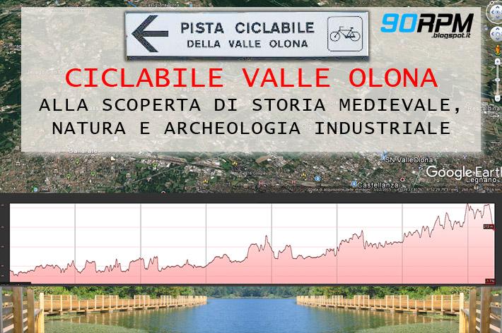 Immagine di copertina dell'articolo sulla ciclabile della Valle Olona