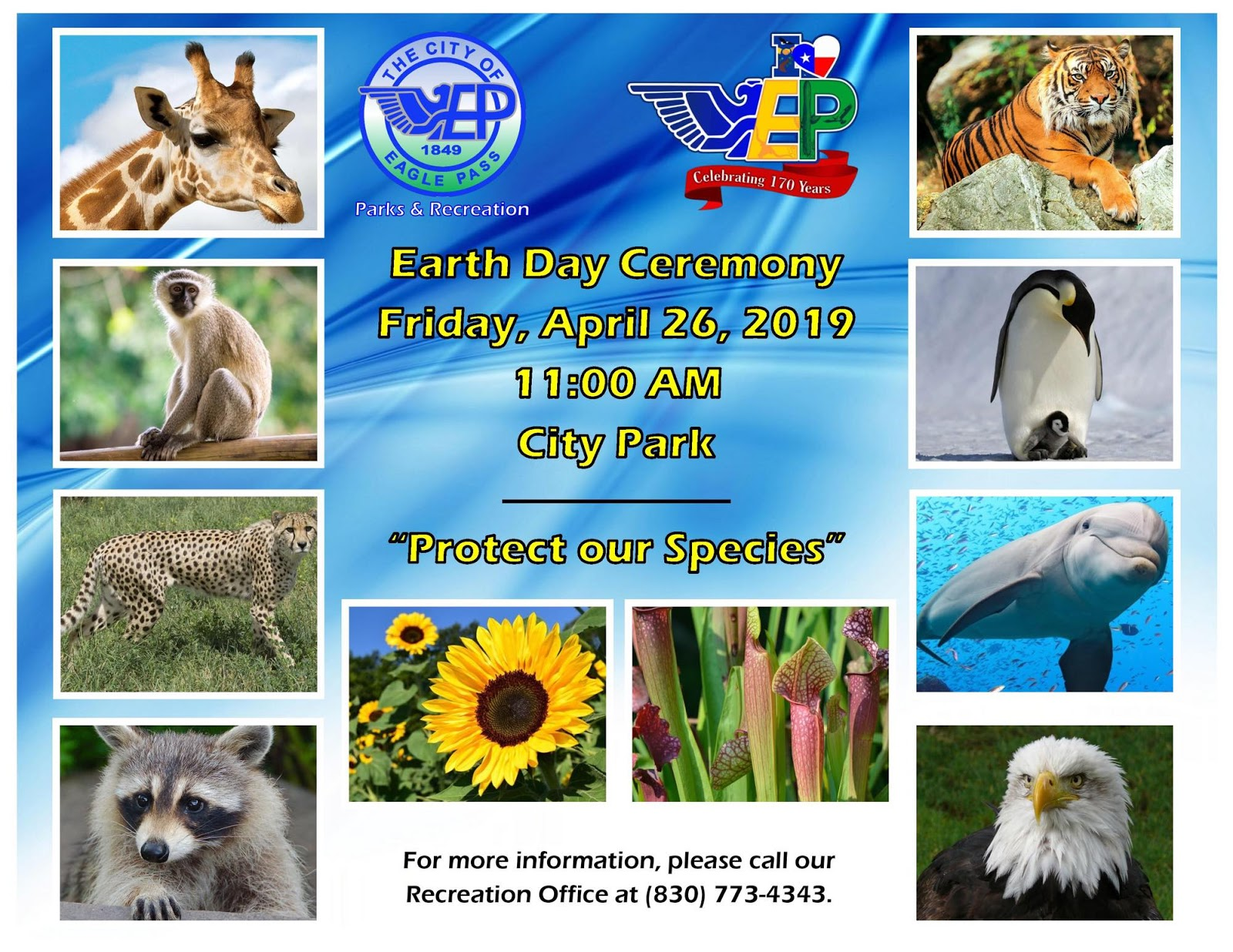 Eagle Pass ISD - iVision: City of Eagle Pass Earth Day Ceremony